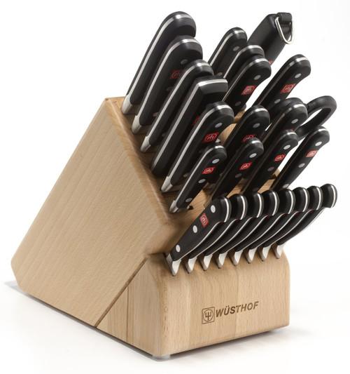 Wusthof Classic 26-Piece Block Knife Set
