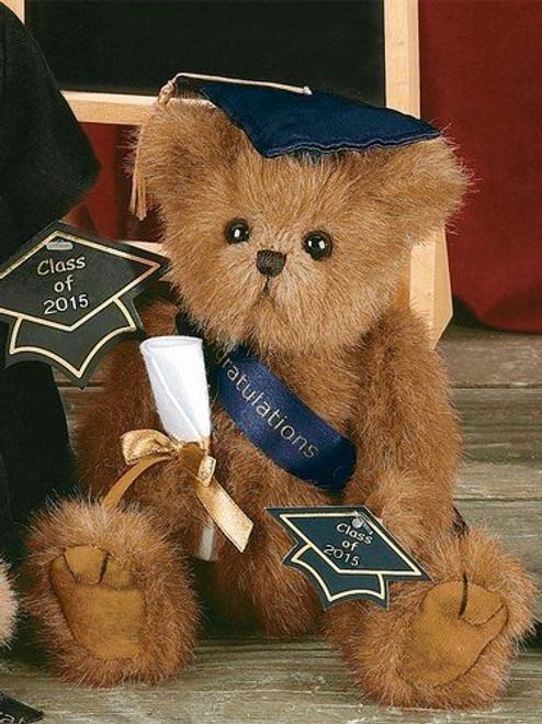 Smarty Graduation Teddy Bear Plush Gift - Class of 2015