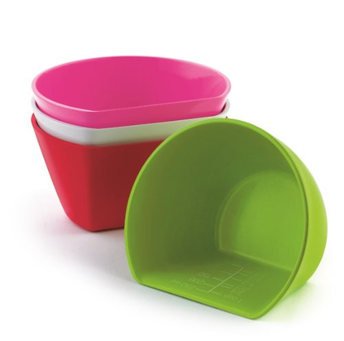 Cuisipro 1.5-Cup 4-Piece Scoop Bowl Measuring Set
