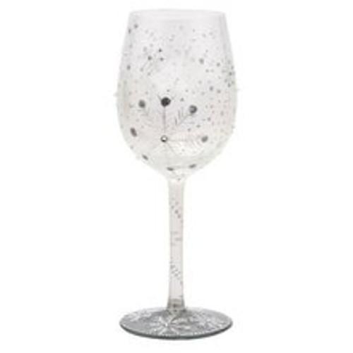 Lolita for Enesco Wine Glass - Winter