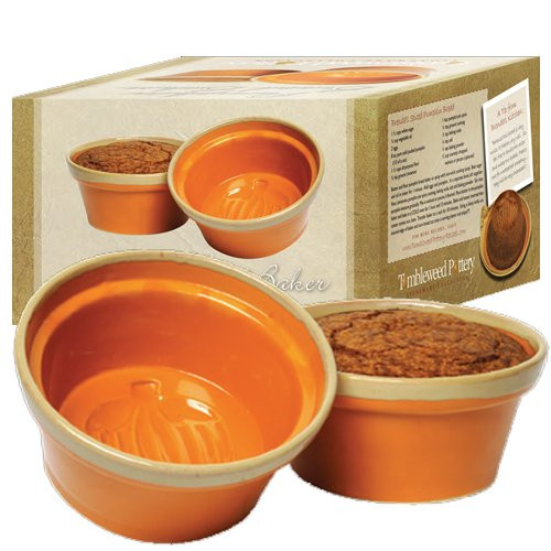 Tumbleweed Pottery Pumpkin Bread Mold