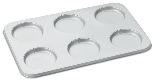 Cuisinart AMB-6MTP Chef's Classic Nonstick 6-Cup Muffin-Top Pan, Silver