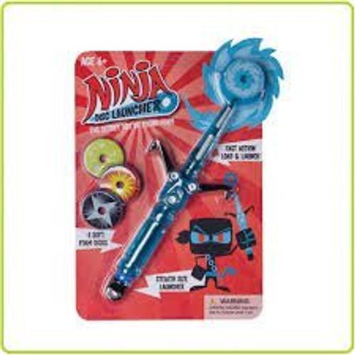 Hog Wild Ninja Disk Launcher Toy
