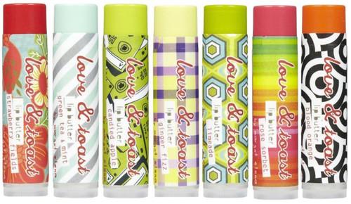 Love & Toast 0.15 Oz Lip Butter