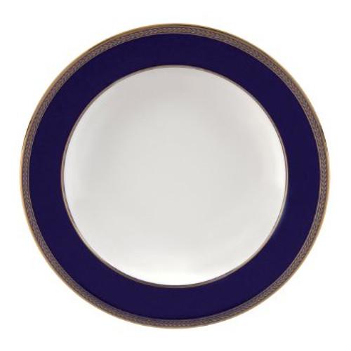 """Renaissance Gold Rim Soup Plate 9"""""""