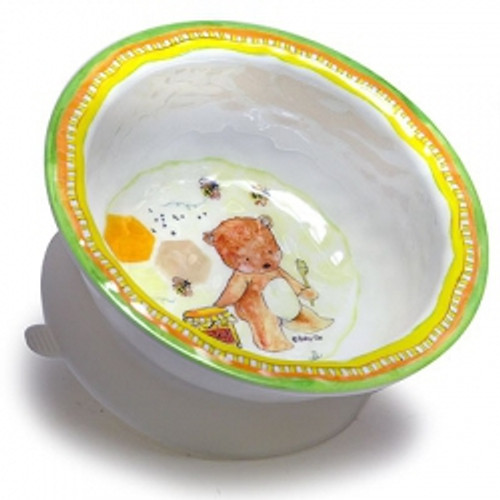 Baby Cie Dani Textured Suction Bowl