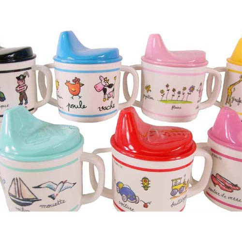 Baby Cie Sippy Cups with French Words