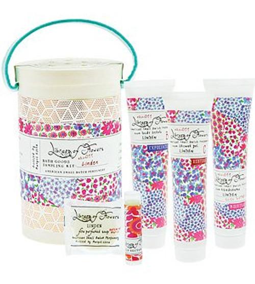 Library of Flowers, Bath Goods Sampling Kit