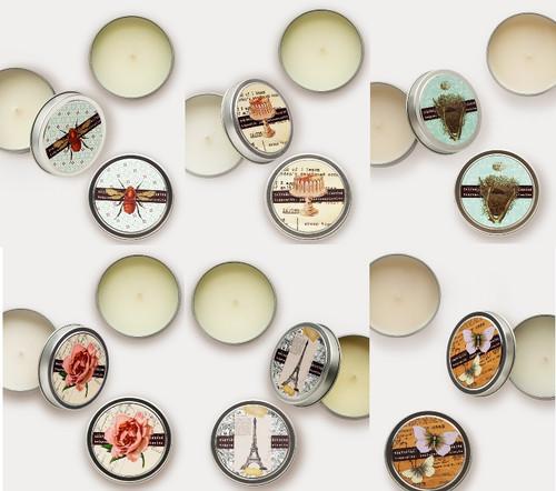 Tokyo Milk 4 Oz Tin Travel Candle