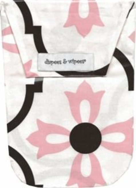 Diapees & Wipees Waterproof  Diaper and Wipes Bag