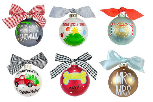 Coton Colors Ornament
