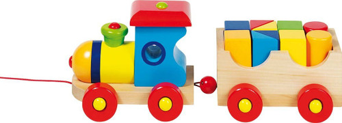 "Wooden London Train 12.5"" by Goki"