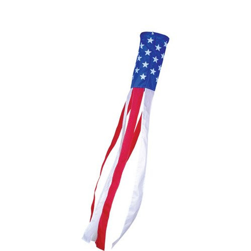 Independence Day (Patriotic) Stars and Stripes 18in Windsock