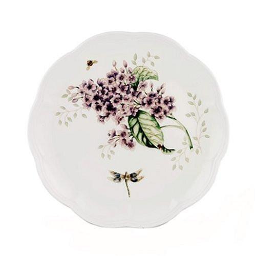 Lenox Butterfly Meadow Orange Sulphur Accent Plate