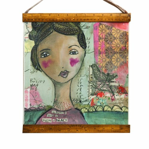 Kelly Rae Roberts Journey of Heart Wall Hanging