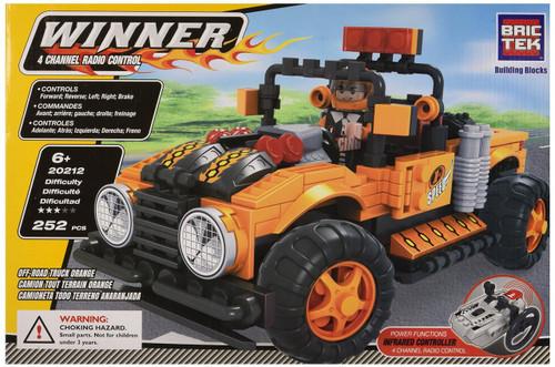Brictek R/C Off-Road Truck, Orange