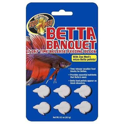 Zoo Med Betta Banquet Blocks 6 Card (Set of 2)