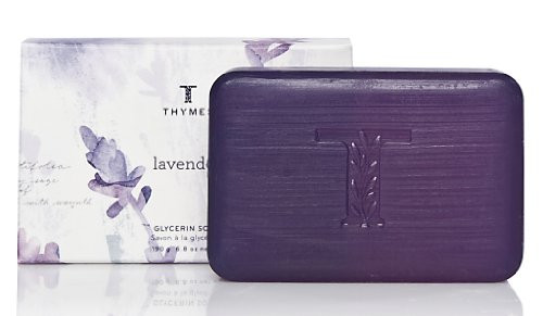 Thymes Glycerin Bar Soap, Lavender