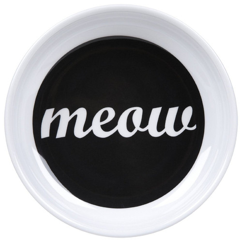 ORE Pet Meow Melamine Bowl