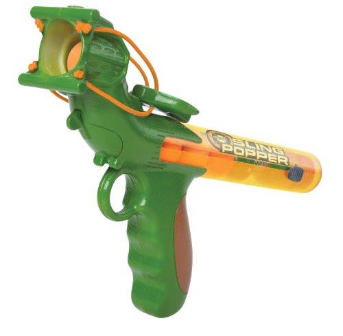 Hog Wild Bullseye Sling Popper Foam Battle Toy