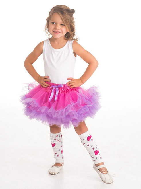 Little Adventures Fairy Tutu Skirt Dress-up Costume, Fuchsia/Light Purple Child Size (3-8 yrs)