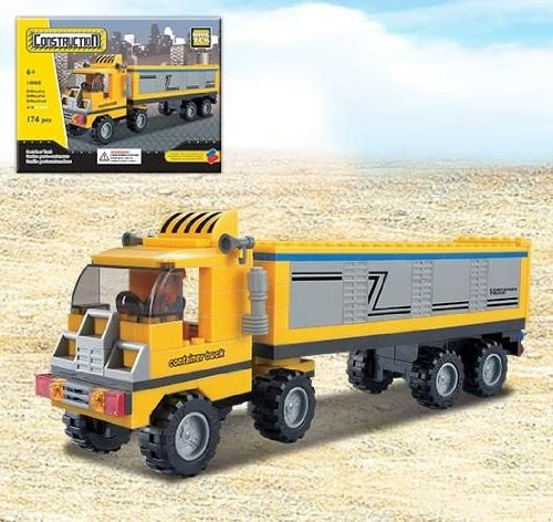 Brictek Container Truck Building Kit