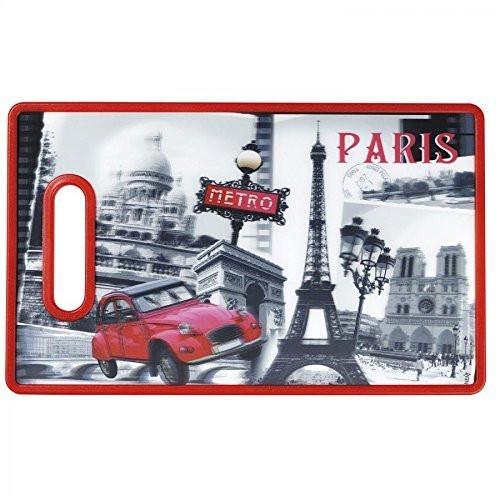 Cuisinart 3D Paris Cutting Board, Multicolor