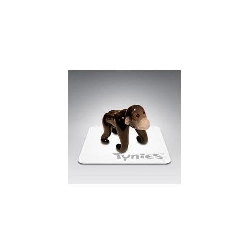 Tynies Animals Rod - Gorilla * Colors May Vary * Glass Figure