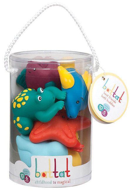 Battat Mini Bath Buddies Baby Toy