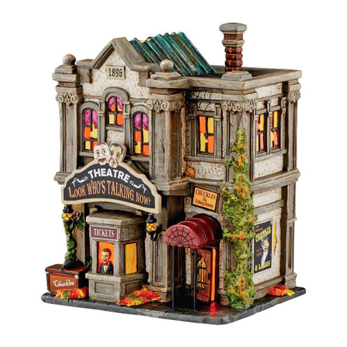 Department 56 - Look Who's Talking Now Theatre