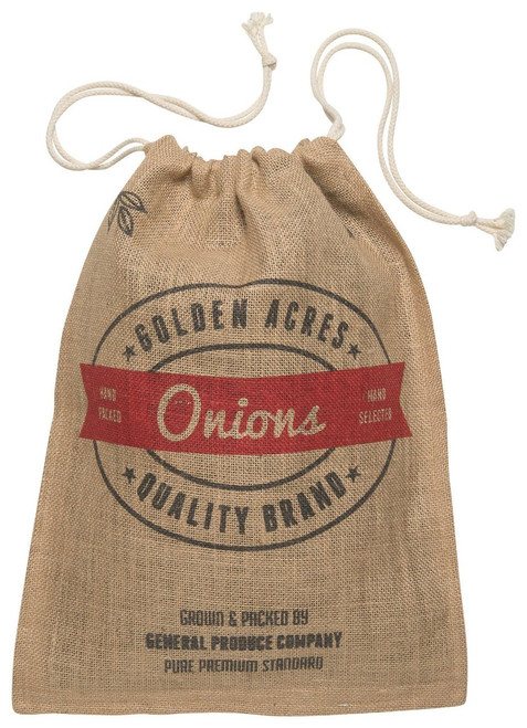 Now Designs Burlap Onion Sack