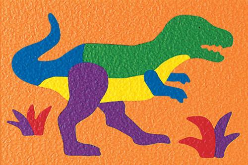 Lauri Crepe Rubber Puzzle - Tyrannosaurus