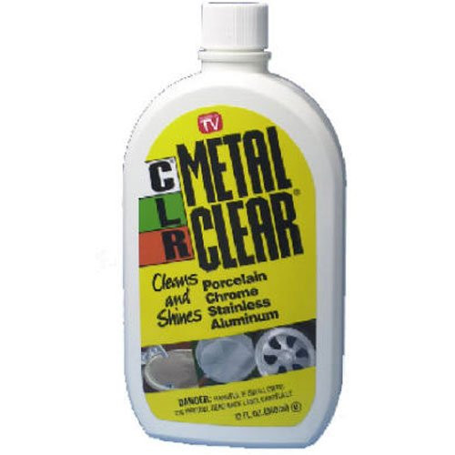 CLR MC-12 Metal Clear, 12 oz. Bottle