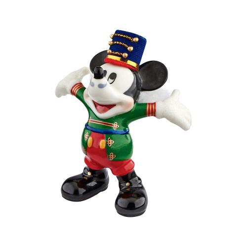 "Department 56 Disney Classic Brands Santa's Helper Mickey Figurine, 3.43"""