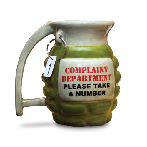 Big Mouth Toys Inc Grenade Mug - Take a Number