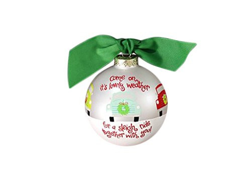 Coton Colors Lovely Weather Glass Ornament