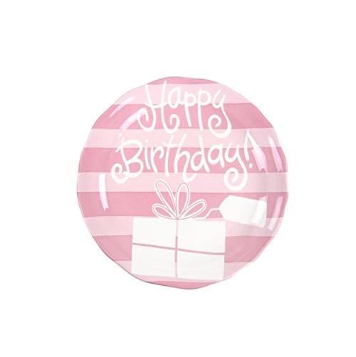 Birthday Ruffle Plate - Girl