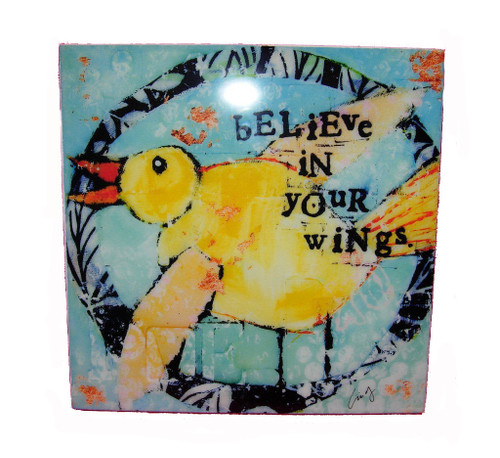 Kelly Rae Roberts Believe in Your Wings Wall Art
