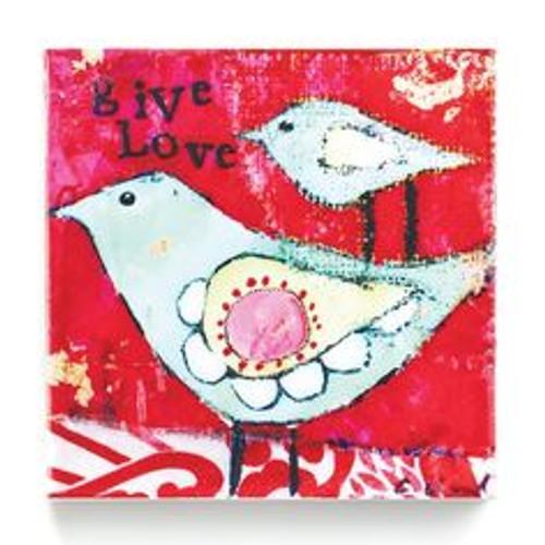 Kelly Rae Roberts Give Love Wall Art