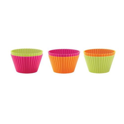 Lekue 6-Piece Muffin-Cup Set, Assorted