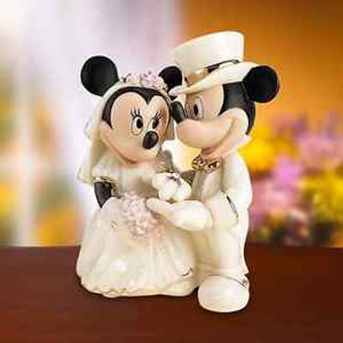 Lenox Disney's Showcase Minnie's Dream Wedding
