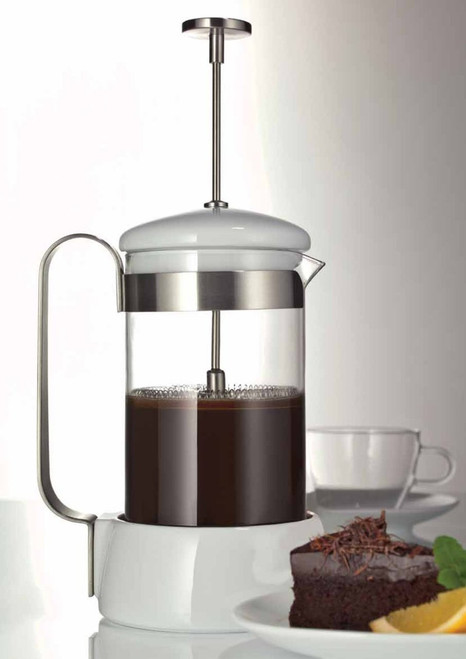 Jenaer Glass Coffee Collection 1-Liter Glass French Coffee Press, 33.8-Ounce