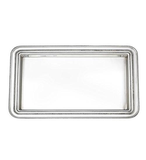 Heritage Banded Bead Platter Size: Medium