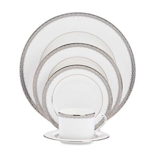 Lenox Lace Couture 5-Piece Dinnerware Set, Service for 1
