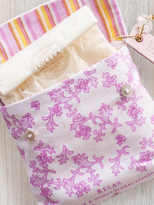 Lollia Relax Sea Salt Sachets-8.8 oz.