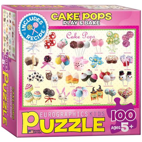 Eurographics Cake Pops Puzzle, 100-Piece