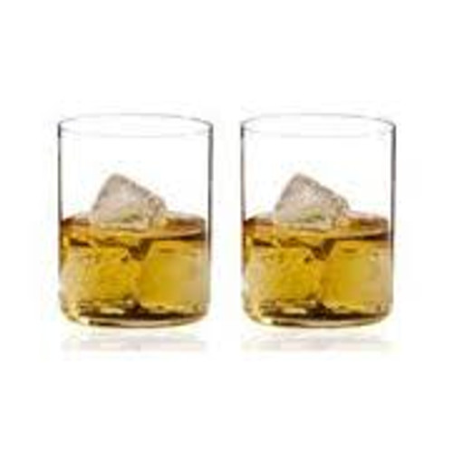 Riedel H2O Whiskey/Double-Old Fashioned Glass, Set of 2