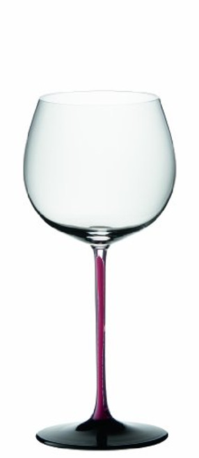 Riedel Sommeliers Series Collector's Edition Crystal Montrachet Glass, Red/Black