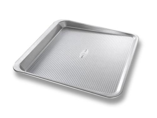 USA Pan Bakeware Aluminized Steel Cookie Scoop Pan, Medium