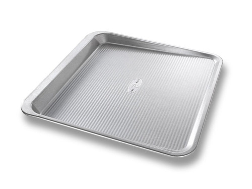 USA Pan Bakeware Aluminized Steel Cookie Scoop Pan, Medium
